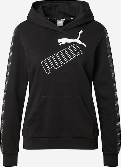 PUMA Sweatshirt 'Amplified' in schwarz / weiß, Produktansicht