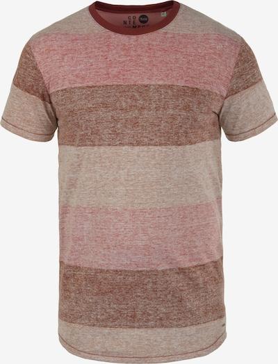 !Solid Rundhalsshirt 'Teine' in rot: Frontalansicht