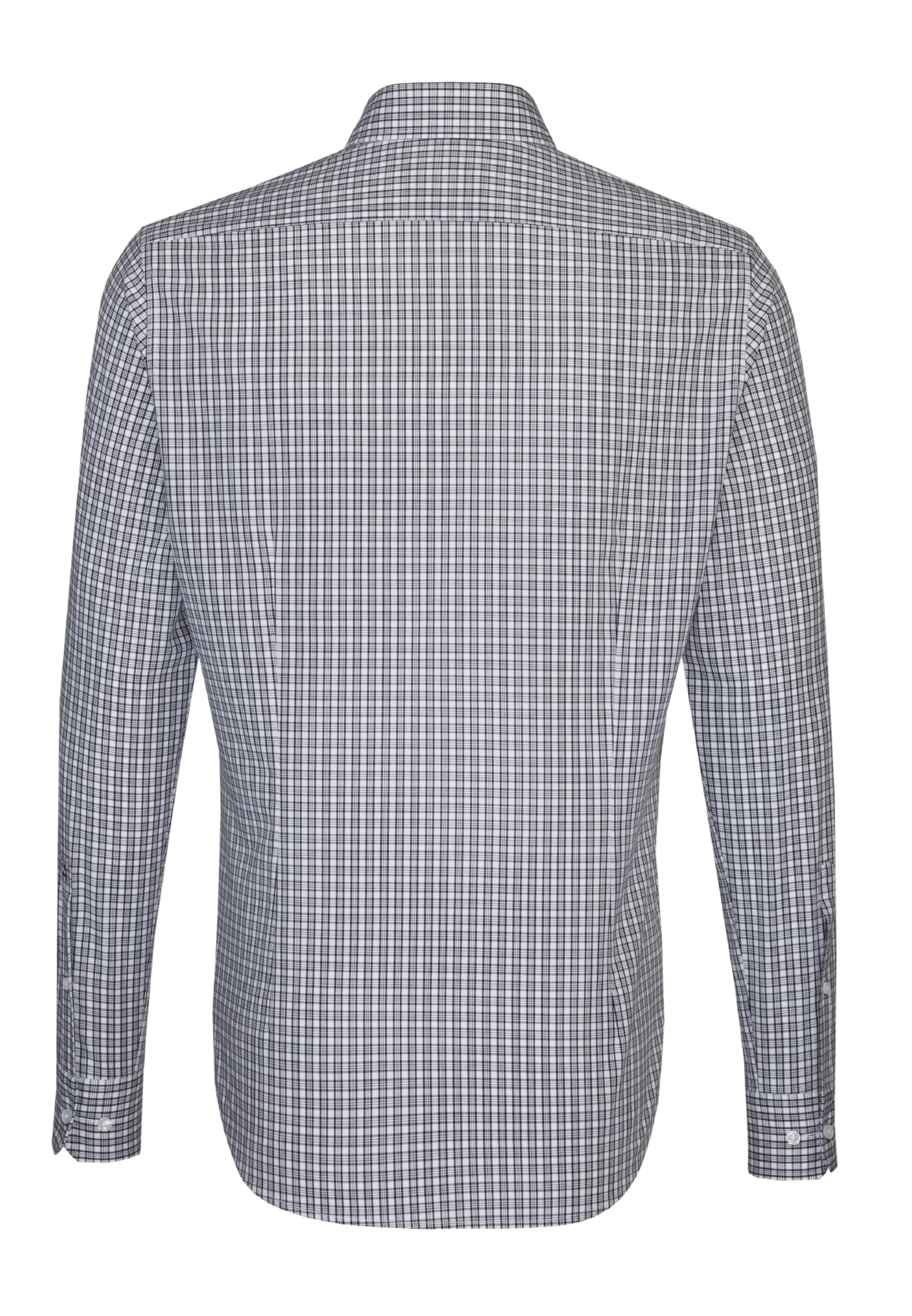 Tailored hemd ' Seidensticker In City Blau ywnvN80mO