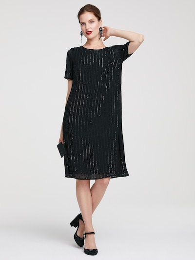 heine Sukienka koktajlowa w kolorze czarnym: Widok z przodu