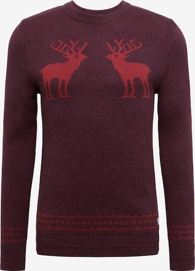 JACK & JONES Sweter w kolorze brązowy / koniakowym, Podgląd produktu