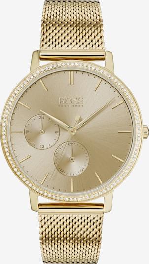 BOSS Uhr in gold, Produktansicht
