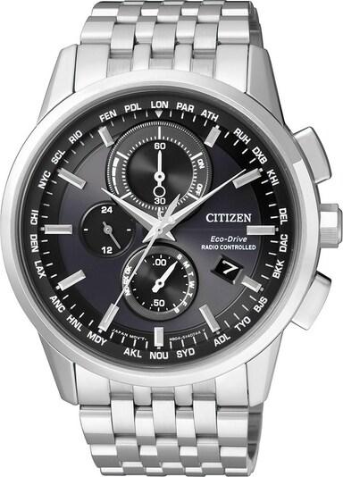 CITIZEN Funkchronograph »AT8110-61E« in schwarz / silber, Produktansicht