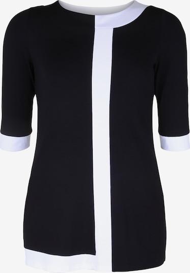 Doris Streich Tunika mit Kontraststreifen in schwarz / weiß, Produktansicht