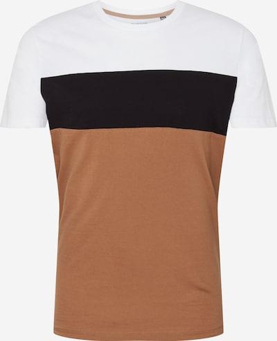 BURTON MENSWEAR LONDON Shirt in sand / schwarz / weiß, Produktansicht