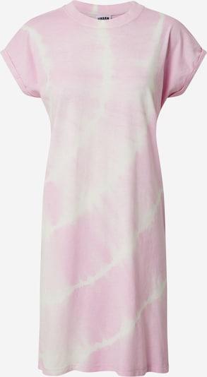 Urban Classics Kleid 'Tye Dye' in rosa, Produktansicht