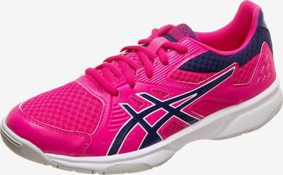 ASICS Handballschuh 'Upcourt 3' in kobaltblau / pink, Produktansicht