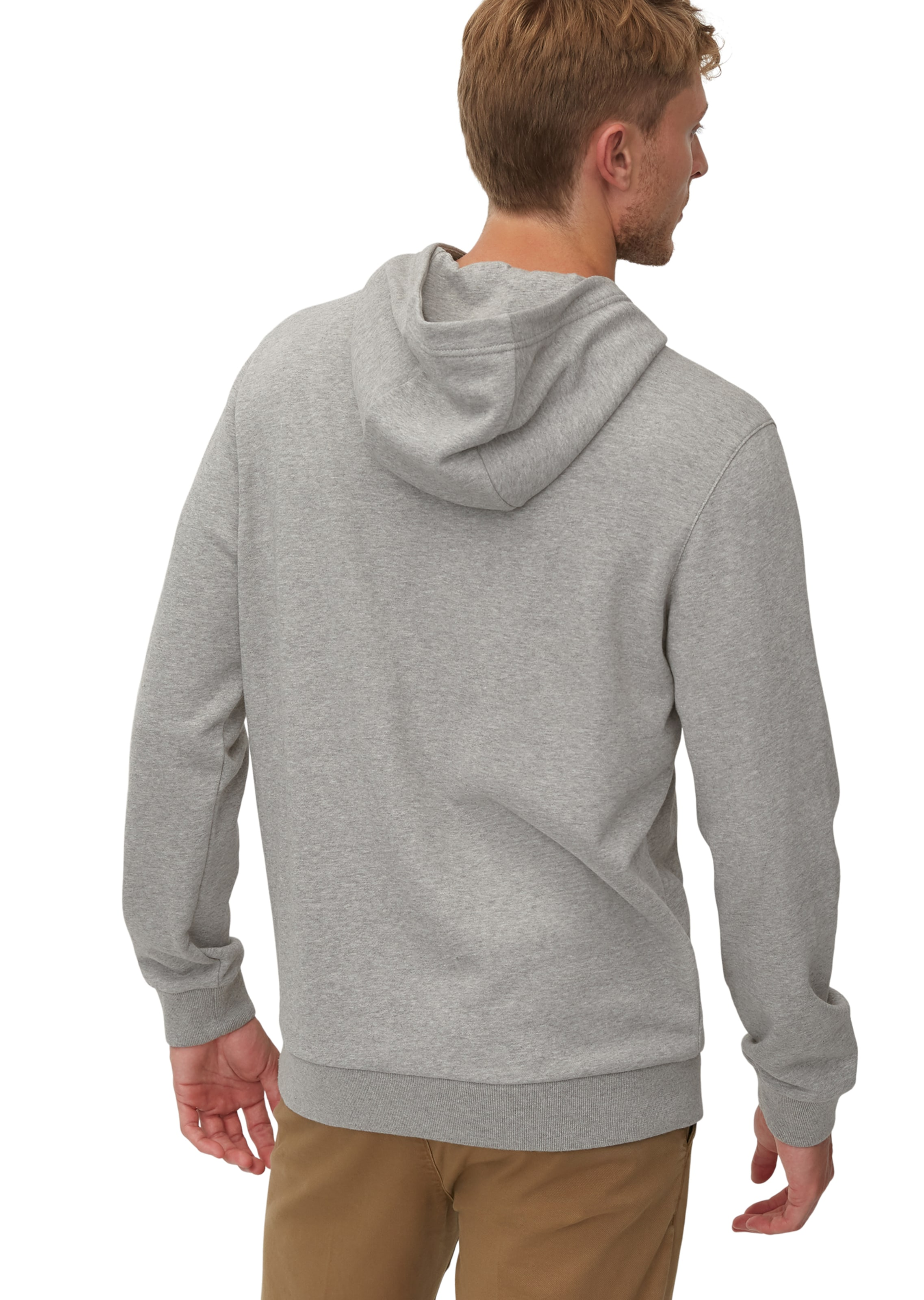 Marc O'polo Hoodie In Graumeliert In Graumeliert O'polo Hoodie Marc EI29DH