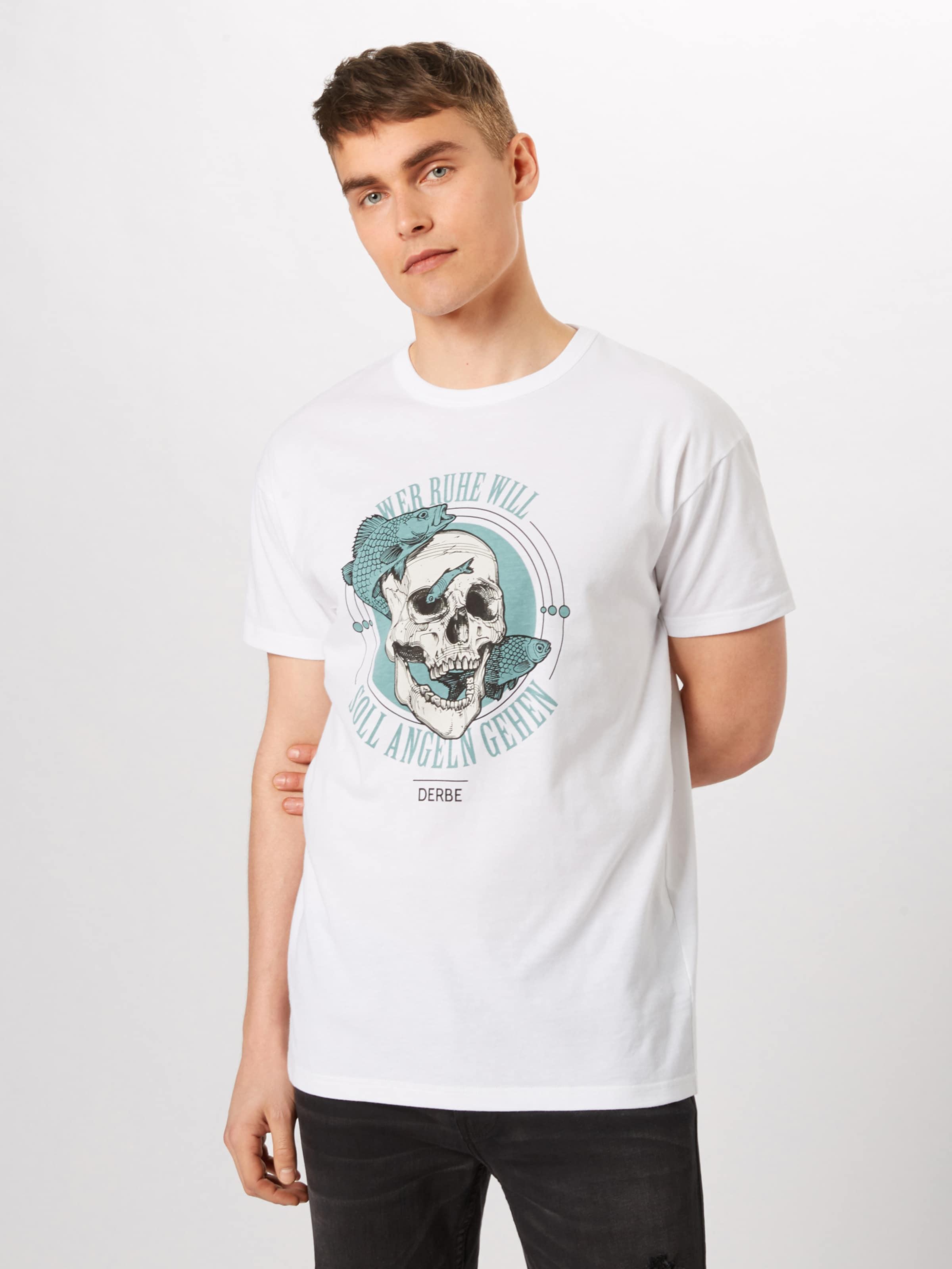 ClairBlanc En Derbe shirt T Bleu 'angeln' l13KuFJTc