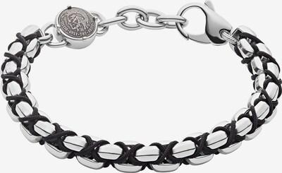 DIESEL Armband 'Stackables, DX1180040' in silber, Produktansicht