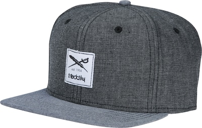 Iriedaily Pet 'Flag Chambray Snapback'