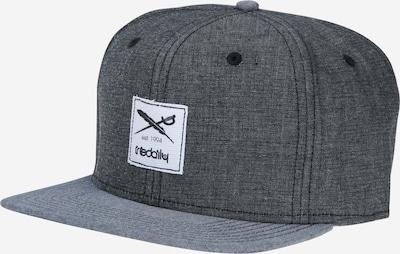 Iriedaily Cap 'Flag Chambray Snapback' in grau / graumeliert / weiß, Produktansicht