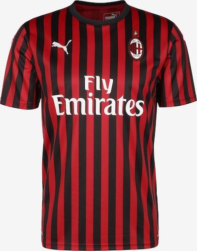 PUMA Fußballtrikot 'AC Mailand 19/20' in rot / schwarz / weiß, Produktansicht