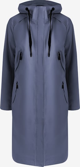 Finn Flare Regenmantel in taubenblau, Produktansicht
