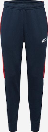 Nike Sportswear Sweathose in navy / melone / weiß, Produktansicht