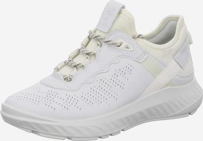 Sneaker low ECCO pe alb, Vizualizare produs