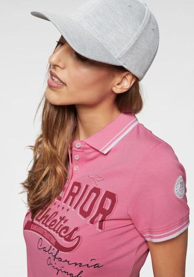 KangaROOS Poloshirt in mischfarben / pink, Produktansicht