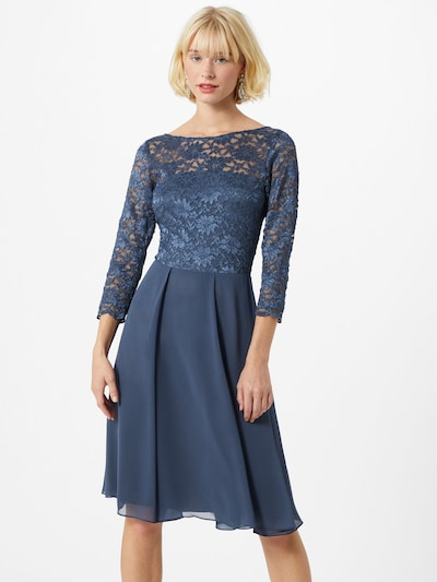 SWING Kleid in indigo, Modelansicht