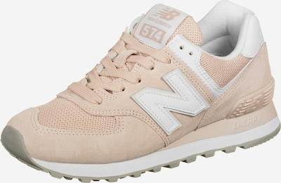 new balance Schuhe in puder / weiß, Produktansicht