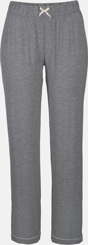 LASCANA LASCANA Pyjama in klassischem Design mit Hemdkragen und Knopfleiste