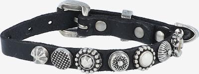 Campomaggi Armband in schwarz / silber, Produktansicht