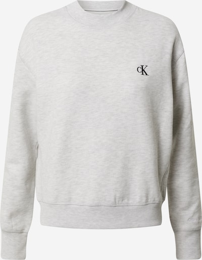 Calvin Klein Jeans Mikina 'EMBROIDERY' - světle šedá, Produkt