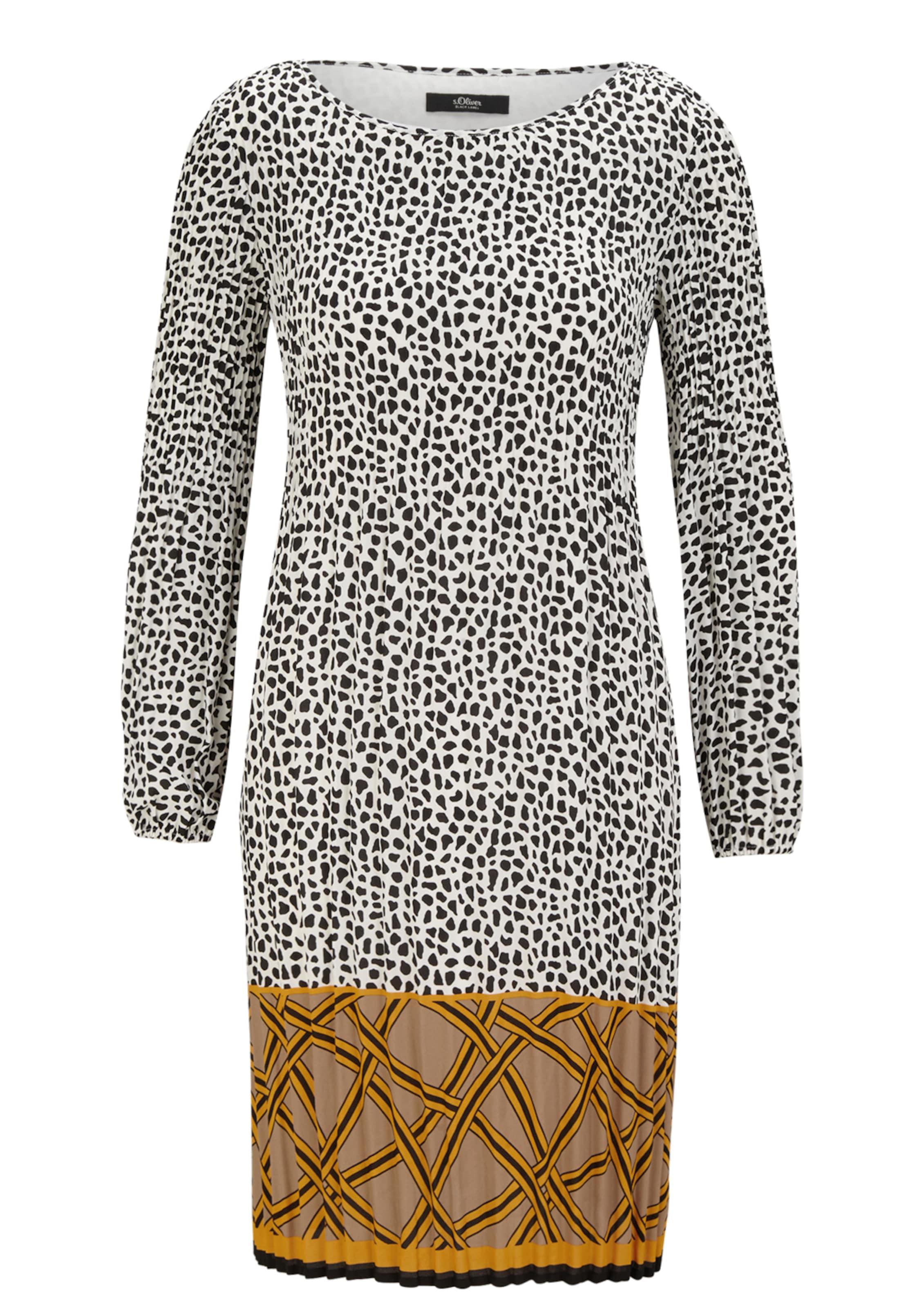 S Black Label In MischfarbenWeiß oliver Kleid CxtrdshQ