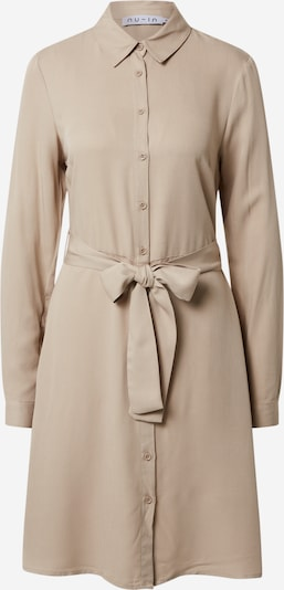 NU-IN Robe-chemise 'Belted Shirt Mini Dress' en beige, Vue avec produit