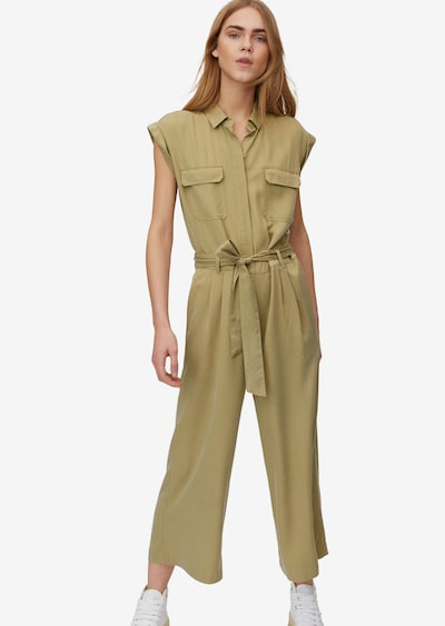 Marc O'Polo DENIM Jumpsuit in de kleur Beige, Modelweergave