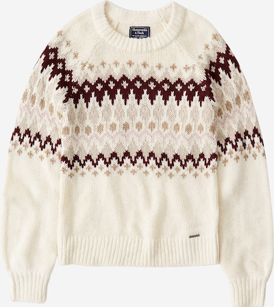 Abercrombie & Fitch Pullover 'XM19-CABLE MOCKNECK 6CC' in beige, Produktansicht