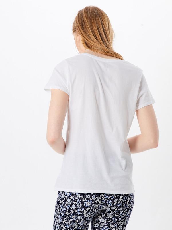 shirt Blanc 'vint' T Gap En POn0wk