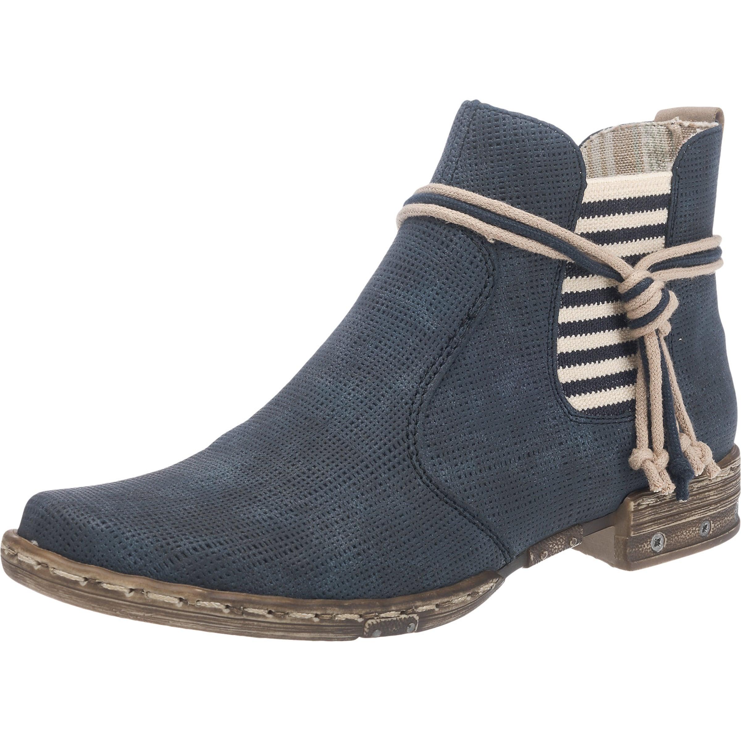 RIEKER Chelsea-Stiefelette mit Zierdetails Günstige und langlebige Schuhe