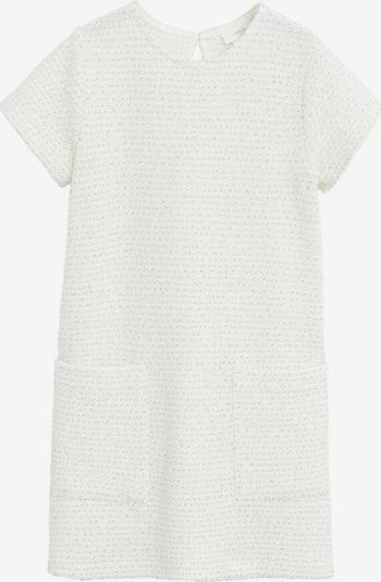 MANGO KIDS Kleid 'Jane' in creme / silber, Produktansicht