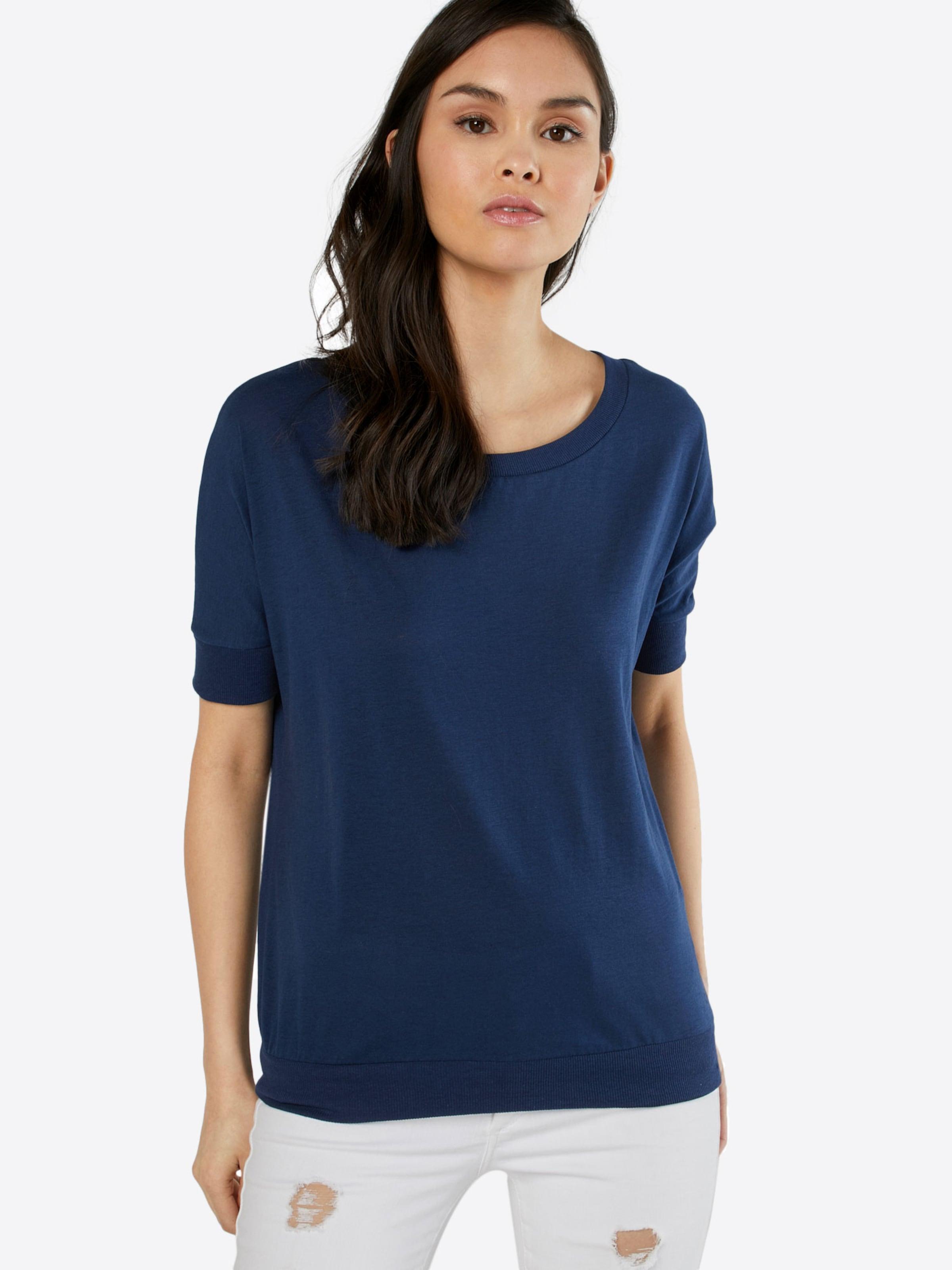 Neuester Günstiger Preis s.Oliver Denim V-Shape-Shirt mit Bündchen Billig Verkauf Genießen Echte Online kAkFgox