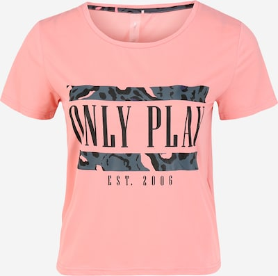 ONLY PLAY Shirt in dunkelgrau / pink, Produktansicht