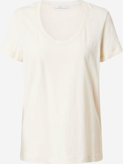 EDC BY ESPRIT Shirt in de kleur Pasteelgeel / Wolwit, Productweergave