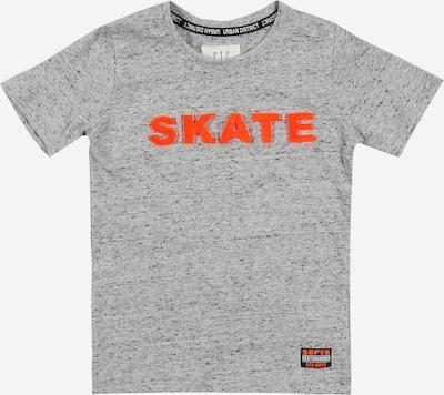 STACCATO T-Shirt in graumeliert / hellrot, Produktansicht