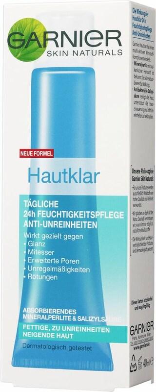 GARNIER 'Hautklar Tägliche 24H Feuchtigkeitspflege', Gesichtspflege