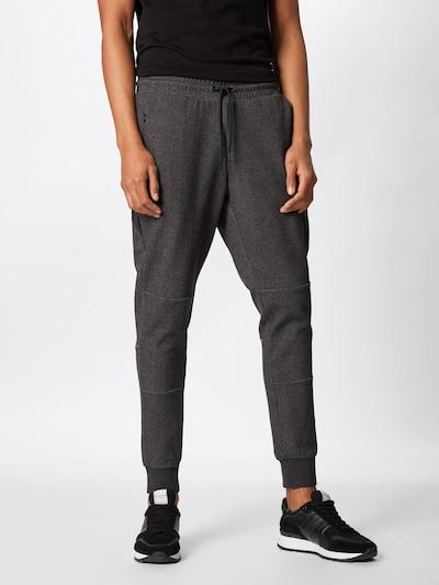 JACK & JONES Spodnie 'Jjiwill Jjclean' w kolorze ciemnoszarym, Podgląd na modelu(-ce)