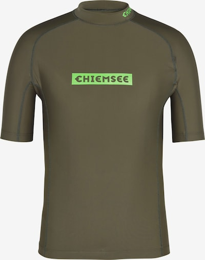 Sportiniai marškinėliai iš CHIEMSEE , spalva - alyvuogių spalva, Prekių apžvalga
