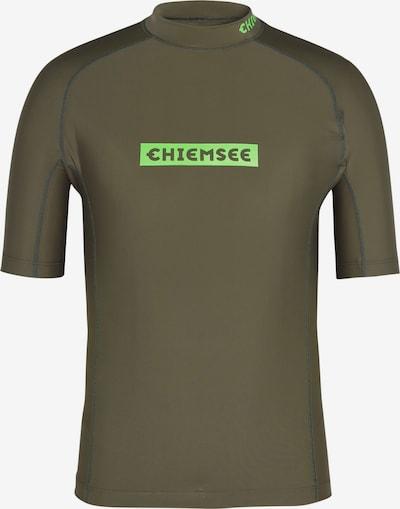 Tricou funcțional CHIEMSEE pe oliv, Vizualizare produs