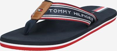 TOMMY HILFIGER Žabky 'HILFIGER LOGO TAPE BEACH SANDAL' - tmavě modrá, Produkt