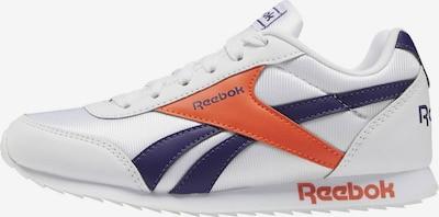 Reebok Classic Sneaker in dunkellila / dunkelorange / weiß, Produktansicht