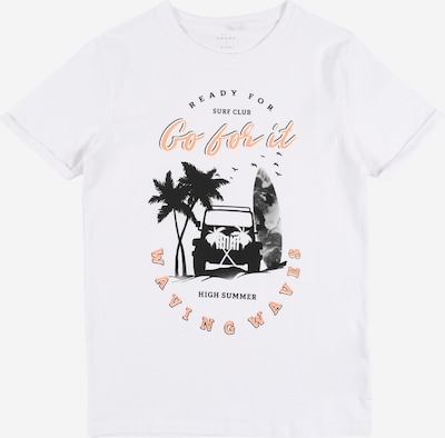 NAME IT Majica | bela barva, Prikaz izdelka