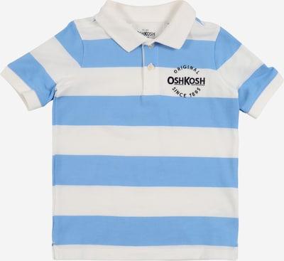 OshKosh Poloshirt in elfenbein / hellblau: Frontalansicht