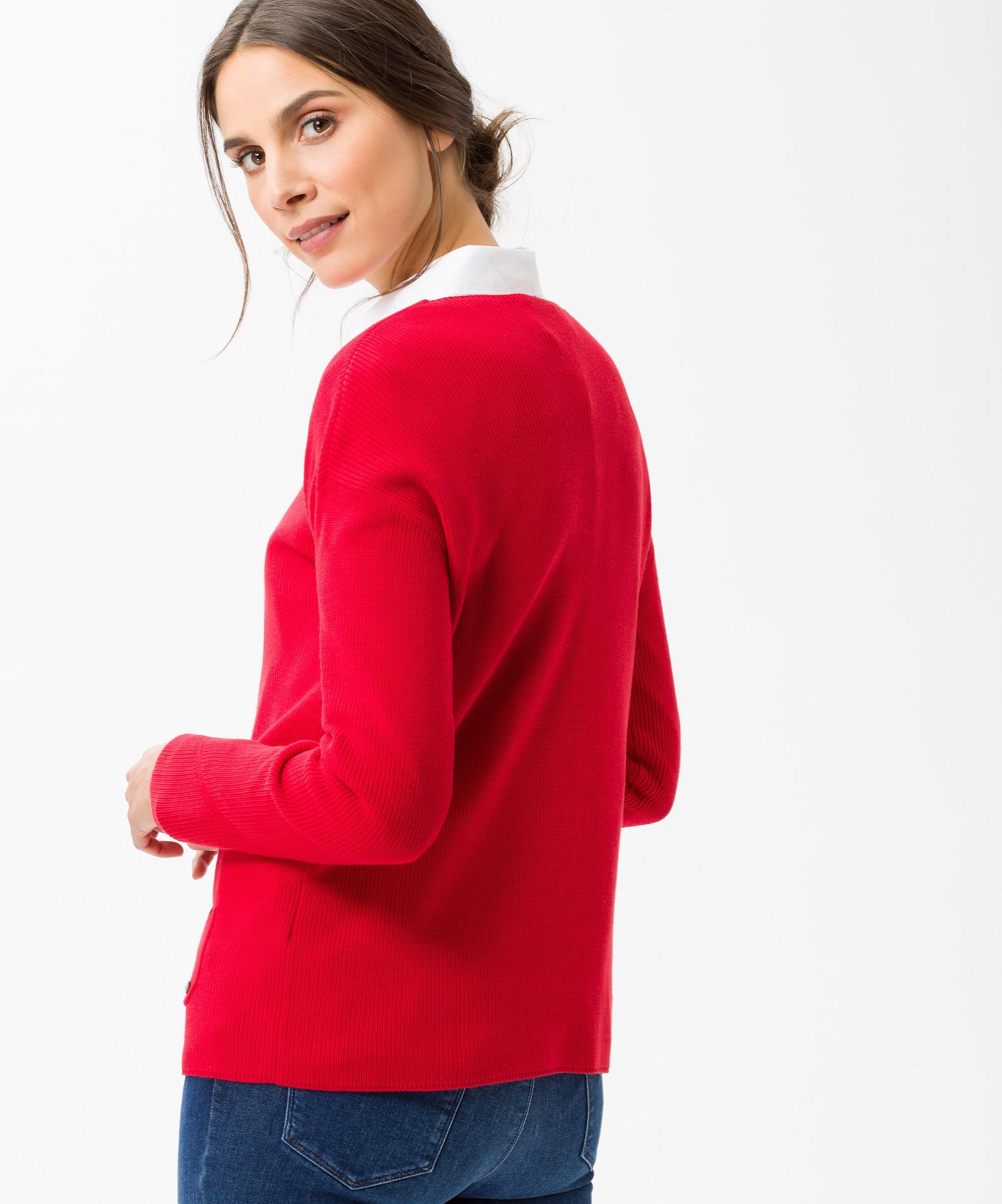 In Rot 'liz' Brax Pullover gb7Y6fy