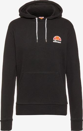 ELLESSE Sweat-shirt 'Toce' en noir, Vue avec produit