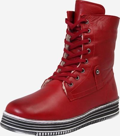 COSMOS COMFORT Schnürstiefel in rot, Produktansicht