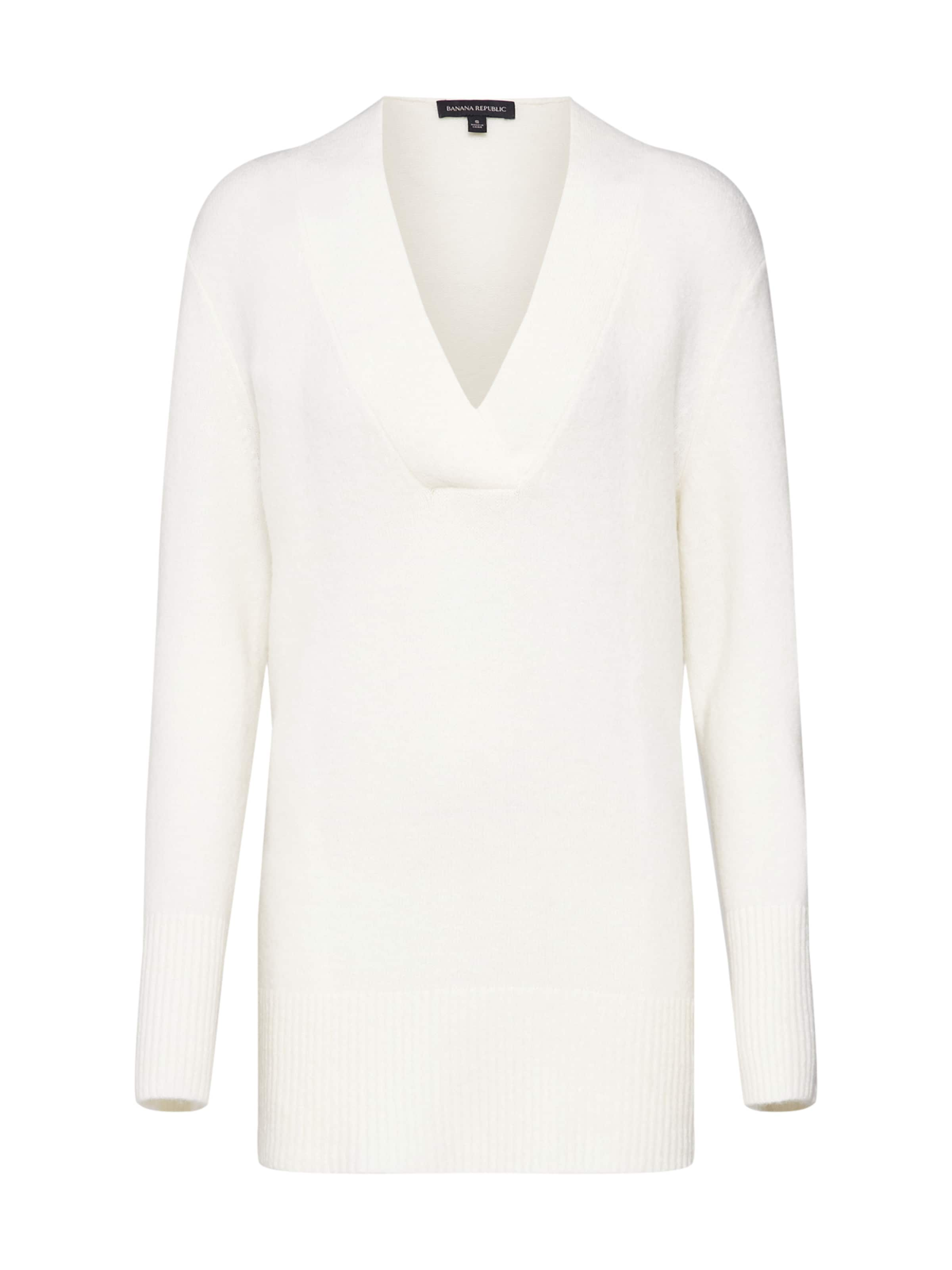 Republic 'fluffy Tunic' Cassé over Blanc Pull En Banana Vee MVpGSzUq