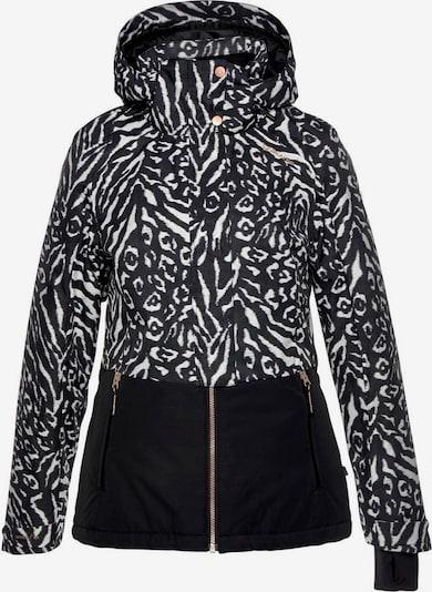 BRUNOTTI Skijacke 'Tiger-Heron' in schwarz / weiß, Produktansicht